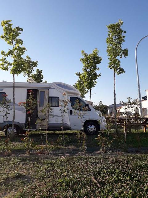 Área de autocaravanas de Tafalla | caravaneros.com