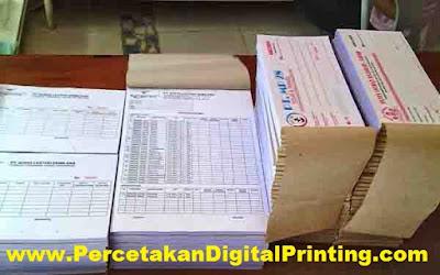 Contoh Contoh Desain KWITANSI Dari Percetakan Digital Printing Terdekat