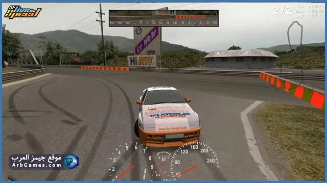 تحميل لعبة لايف فور سبيد Live For Speed للكمبيوتر من ميديا فاير