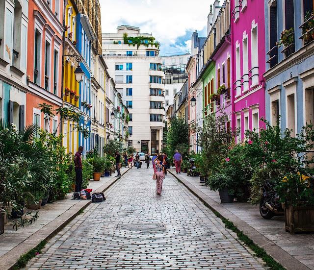 Photo de la rue Crémieux, 12 Arrondissement de Paris