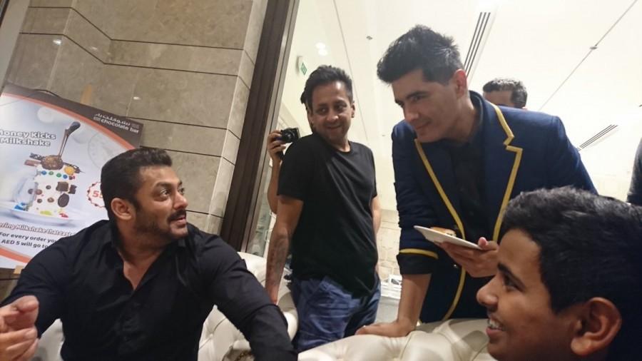 Salman Khan Inaugurates Belhasa Driving Centre In Dubai