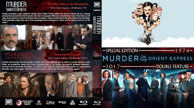 Murder On The Orient Express Collection Bluray Cover