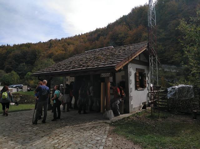 Casa de guardias al inicio del sendero de la Selva de Irati