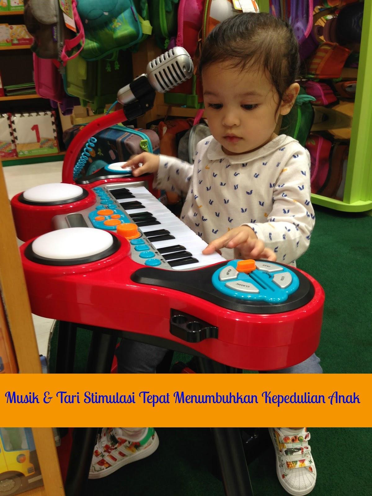Musik Tari Stimulasi Tepat Menumbuhkan Kepedulian Anak My
