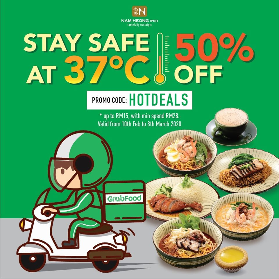 nam heong: hotdeals 50% off with grabfood deliveries