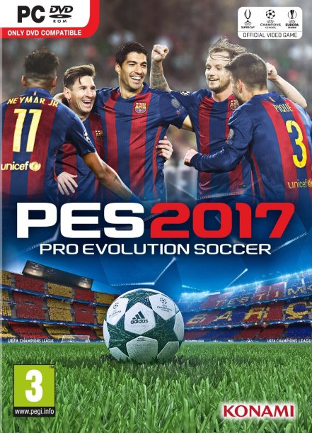 Pro Evolution Soccer 2017 Reloaded Edition PC Game - 4.6Gb