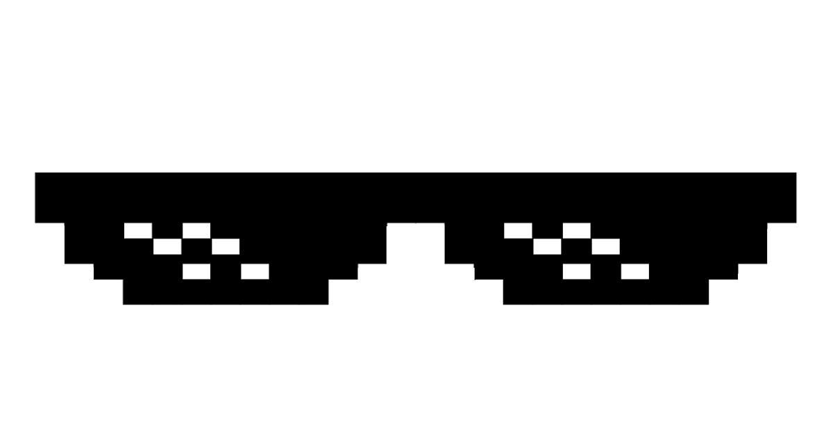 Pixel Sunglasses Meme Song   CINEMAS 93