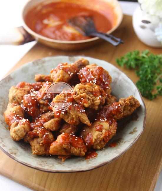 Resep Ayam Goreng Korea JTT