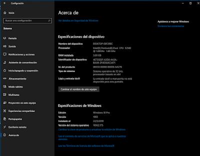 Descargar Windows 10 1903 espa25C325B1ol mega gratis -