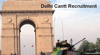 Delhi Cantt Recruitment