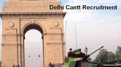Delhi Cantt Recruitment
