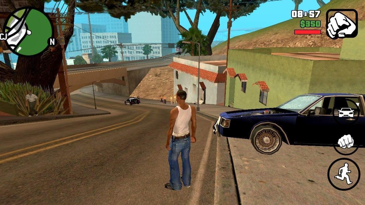 GTA San Reas Free Download Game Roid