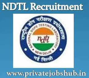 NDTL Recruitment