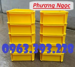 Thùng nhựa đặc B7 có nắp, hộp nhựa cơ khí, khay nhựa đặc C0e8047c569ab4c4ed8b