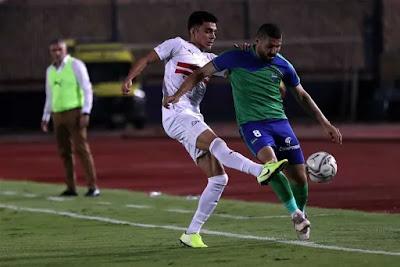 ملخص اهداف مباراة الزمالك ومصرالمقاصة (2-0) في كأس مصر