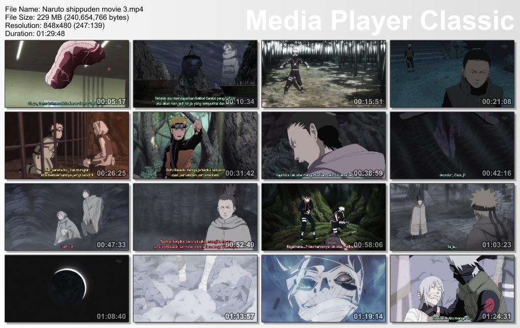 Naruto Shippuden Movie 3 : Inheritors of the will of fire