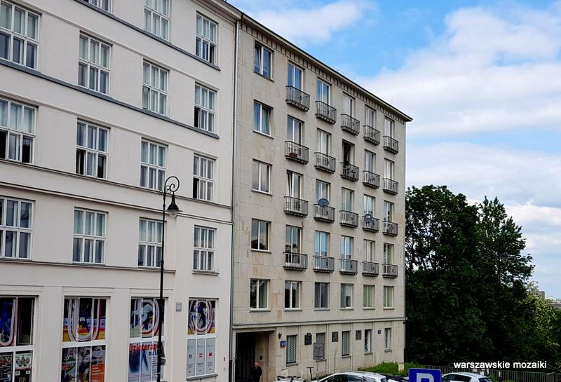 Warszawa Warsaw modernizm art deco architektura sułkowski Horacy Heller KGMO architecture