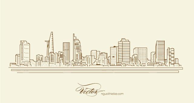 Ho Chi Minh city vector miễn phí download