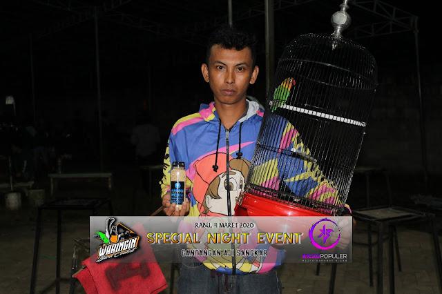 Jawara Lovebird M2 B - LB Gembrot milik Om Askanio dari Mahkota Jaya Abadi