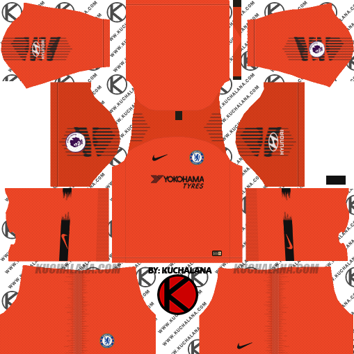 5b3862d17 Chelsea FC 2018 19 Kit - Dream League Soccer Kits - Kuchalana