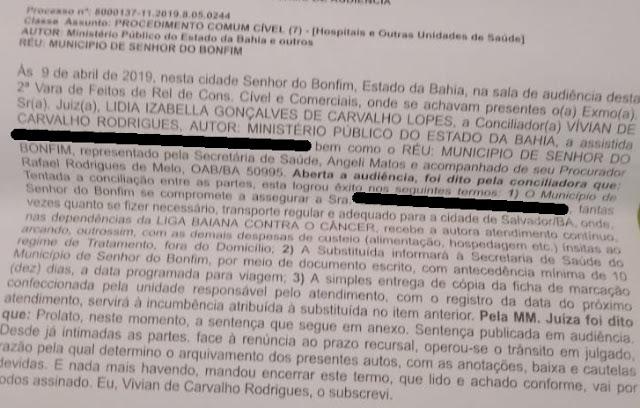 PACIENTE COM CÂNCER NÃO ENCONTRA VAGA EM TRANSPORTE PARA TRATAMENTO EM SALVADOR