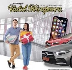 Promoção Ibirapuera Shopping Natal 2019 - 2 Mercedes e 50 iPhone XR