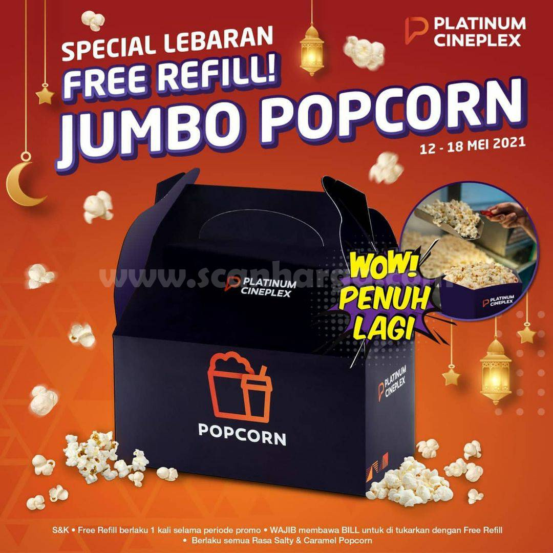 Promo PLATINUM CINEPLEX Spesial LEBARAN