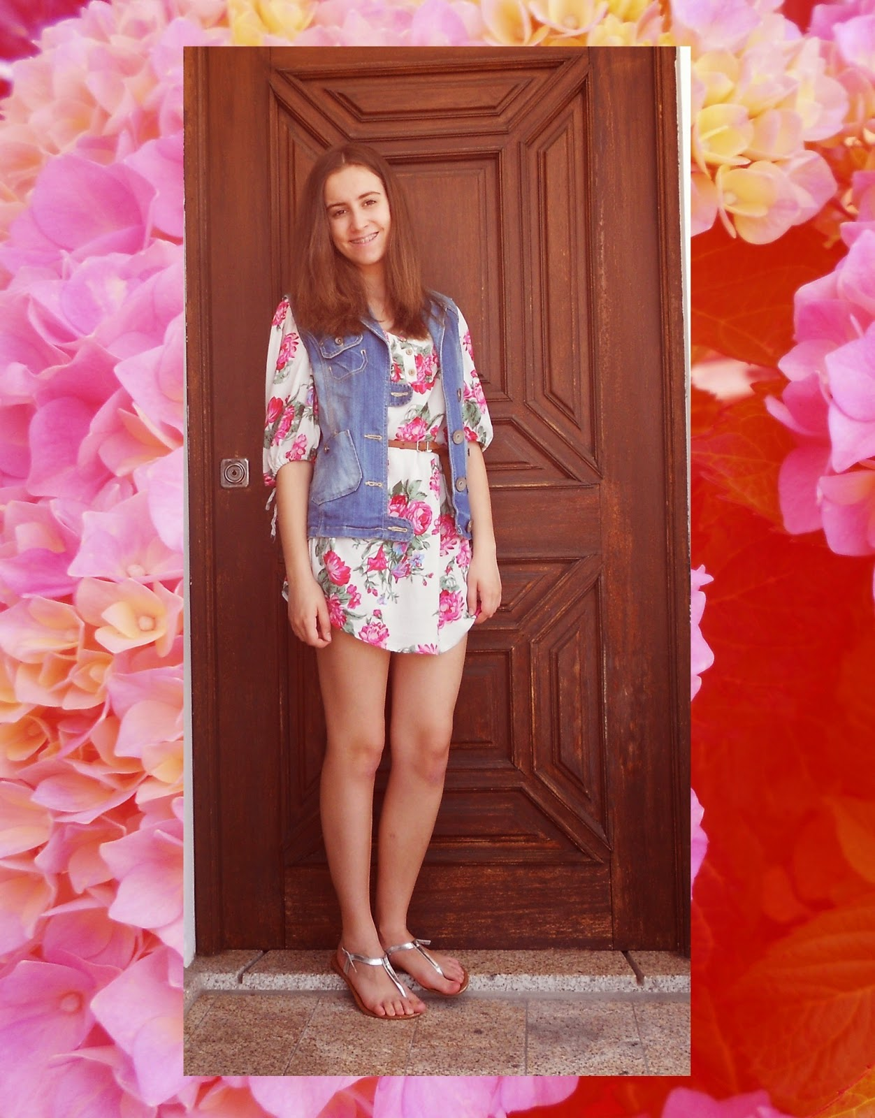 outfit | i love flowers