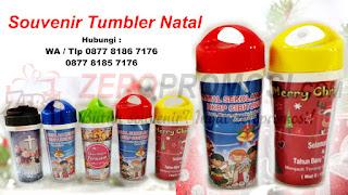 Souvenir Natal Tumbler insert paper