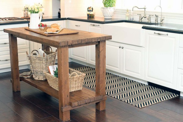 Butchers block island best home decoration world class - Small butcher block island ...