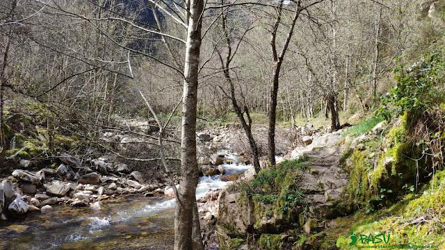 Entrada en el Río Semeldón