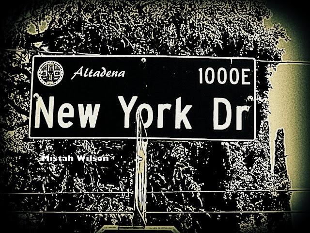 New York Drive, Altadena, CA by Mistah Wilson