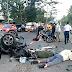 Tabrakan Beruntun Di Padang,Satu Mobil Rebah Kuda.Sejumlah Korban Luka-Luka