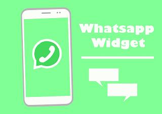 membaca pesan whatsapp melalui widget home screen