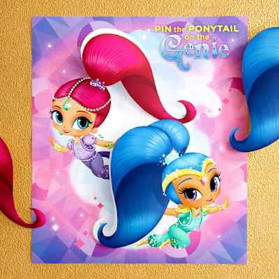 Shimmer and Shine party games