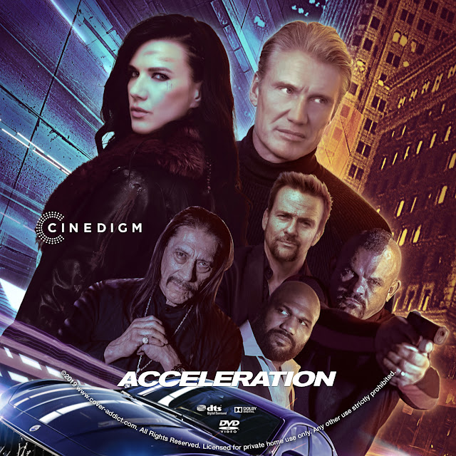 Acceleration DVD Label