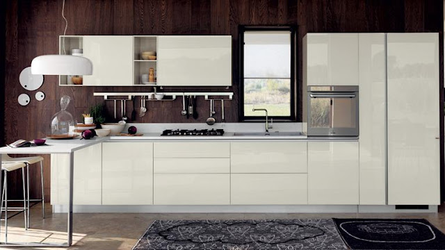 Kitchen Set Model Single Line
