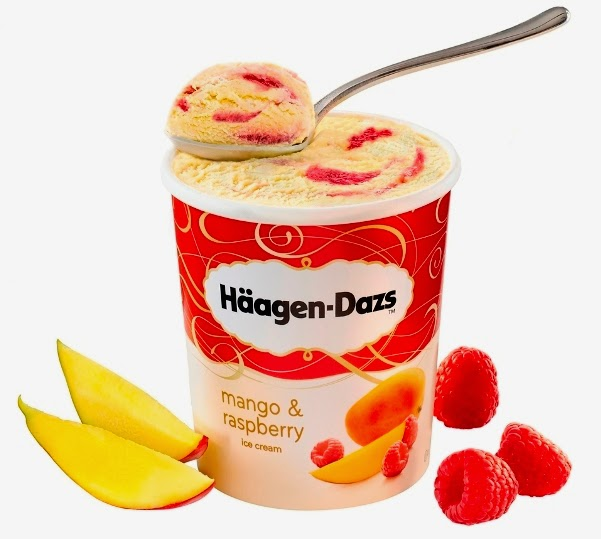 Haagen Dazs, Haagen Dazs Scoop of Summer, Beach Party, Luna Bar, Haagen-Dazs Mango Raspberry, Luscious Midsummer, Tropical Passion