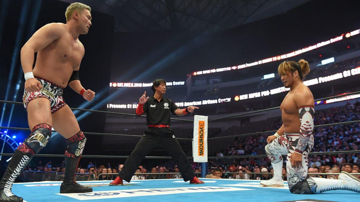 O que está acontecendo com a NJPW ?