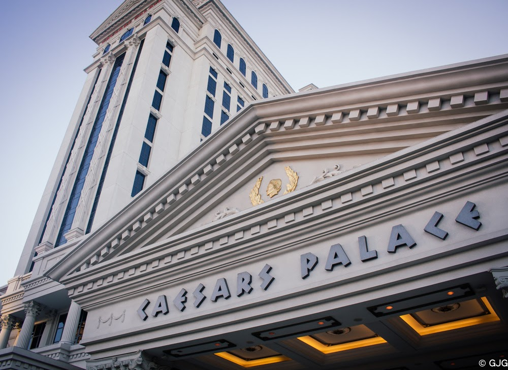 CAesars Palace The Las Vegas Strip travel diary