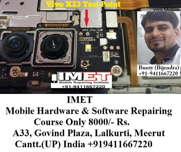 Vivo X23 Test Point [Vivo X23 EDL Mode PINOUT] - IMET Mobile
