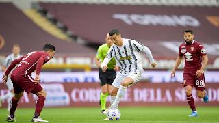 ملخص واهداف مباراة يوفنتوس وتورينو (2-2) الدوري الايطالي