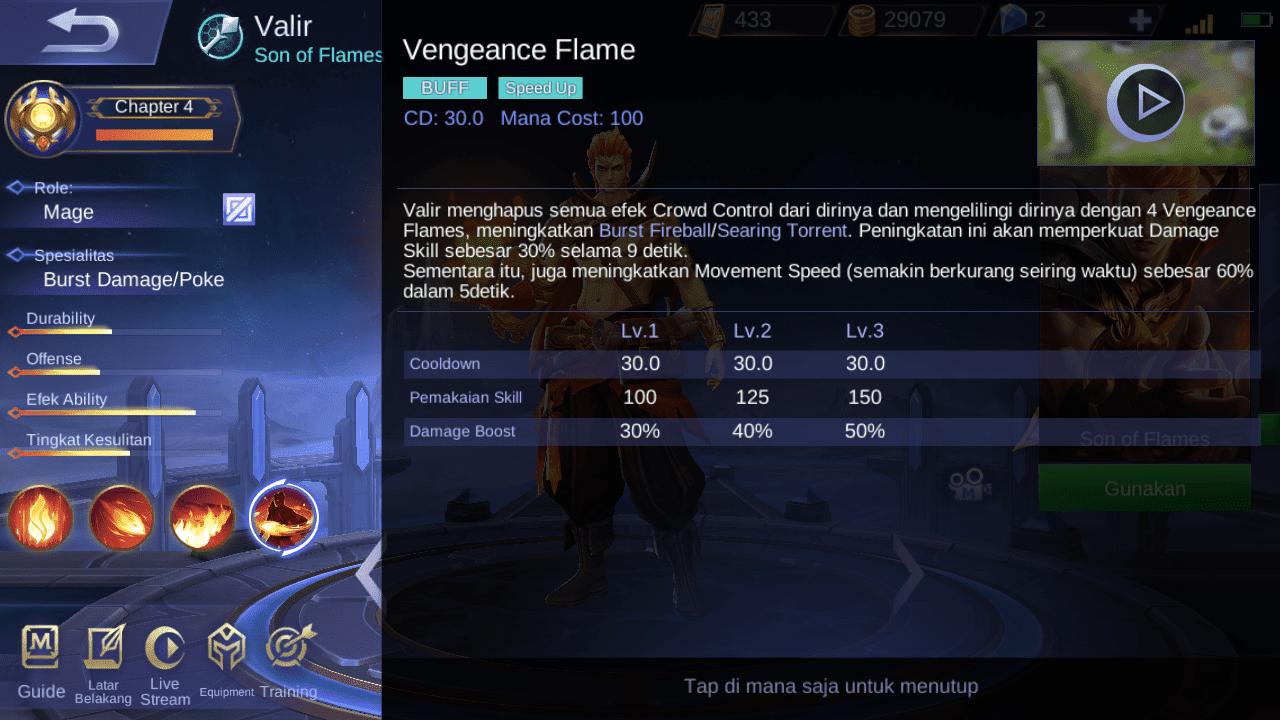 Setelah Revamp, Akankah Valir Mobile Legends Jadi Hero Favorit? 4