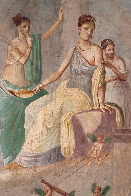 mitologia baco vinho pompeia vesuvio carpe diem