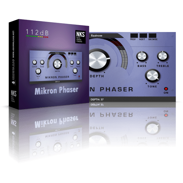 112dB Mikron Phaser v1.0.0 Full version