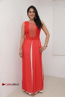 Actress Model Regina Candra Latest Pos in Beautiful Red Dress  0022.jpg