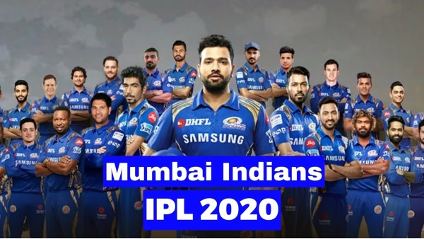 Mumbai Indians Team 2020 Players List and all matches in Dream 11 IPL 2020: