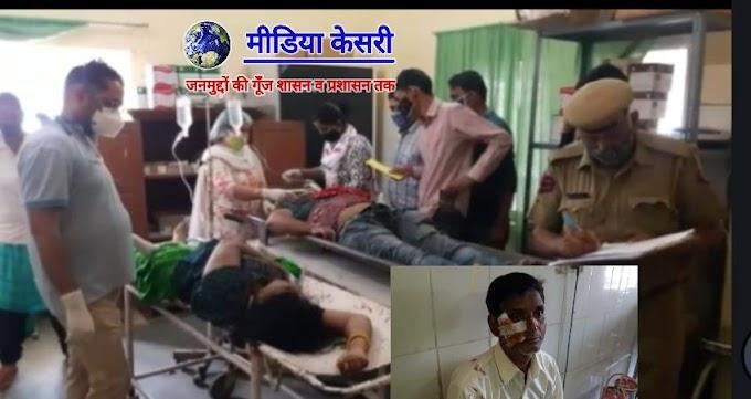 Khatu Shyam padyatra- झुंझुनू (Jhunjhunu) सडक़ हादसे में दो श्याम पद यात्रियों की मौत, दो घायल