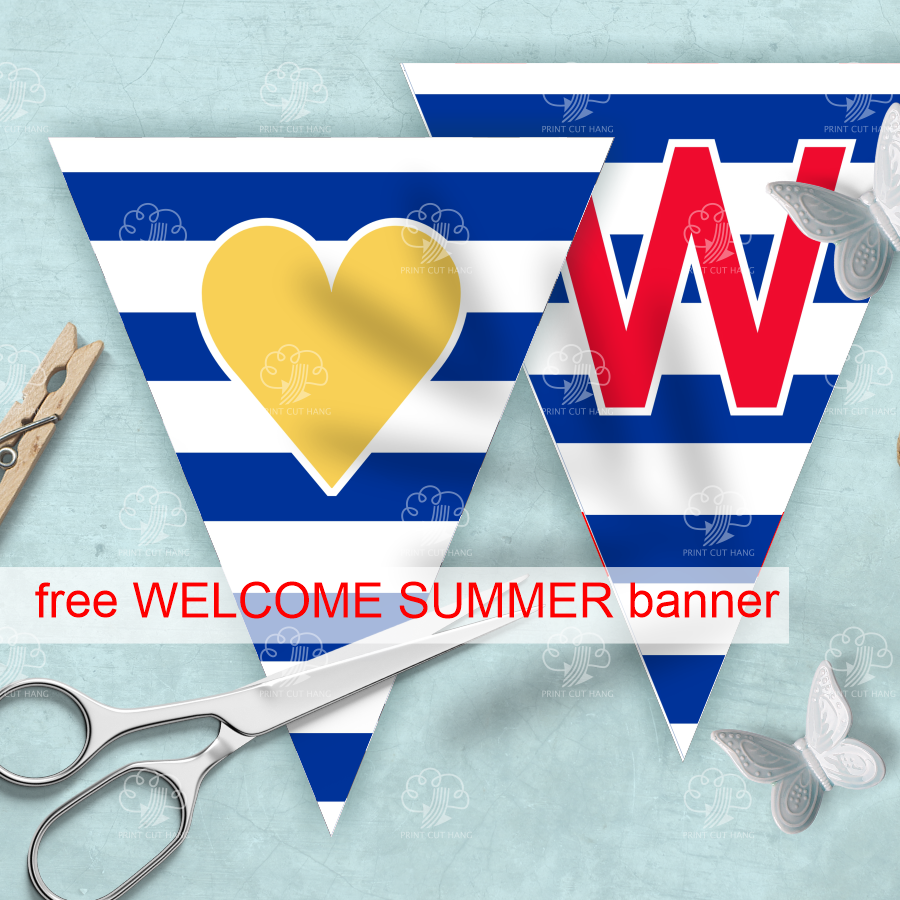 Free Velcome back banner