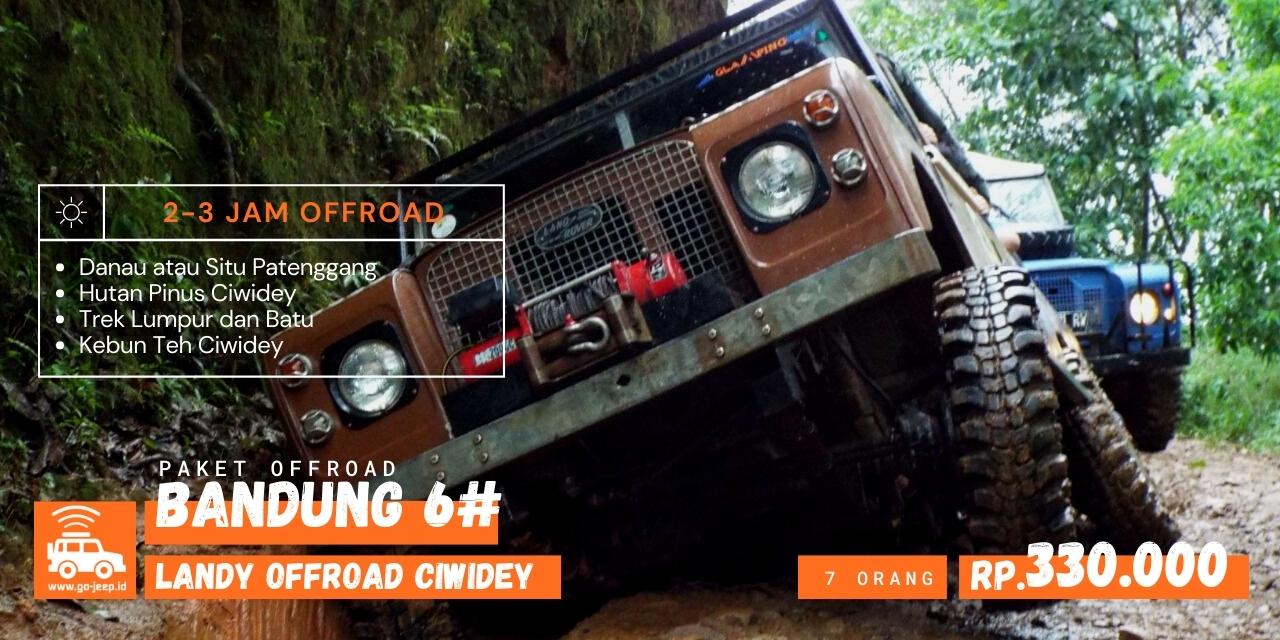 paket land rover offroad Ciwidey Bandung Selatan